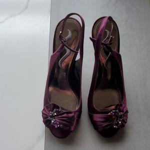 Women's 9.5 Satin Nina Shoes 9.5